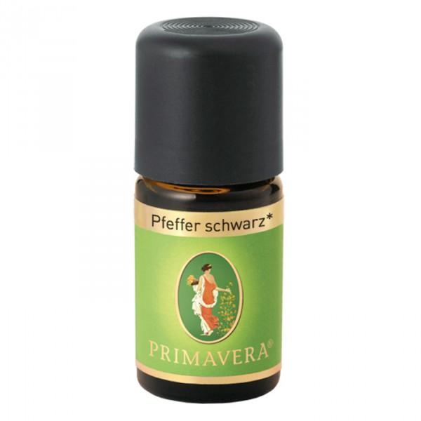 Primavera Pfeffer schwarz bio - 5ml