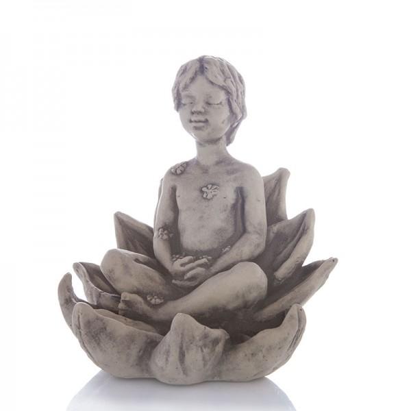 Yogi aus Steinguss