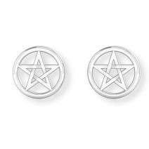 Ohrstecker Pentagram