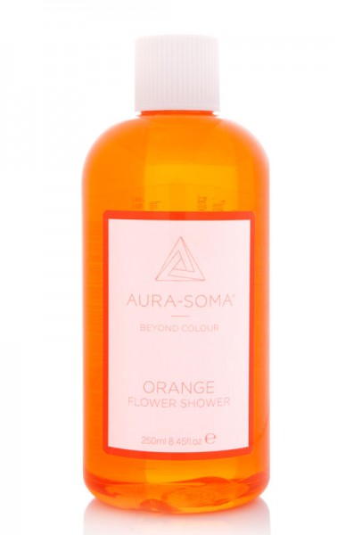 Aura_Soma flower Shower Orange