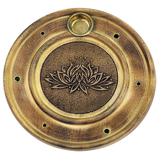 Räucherstäbchenhalter Lotus