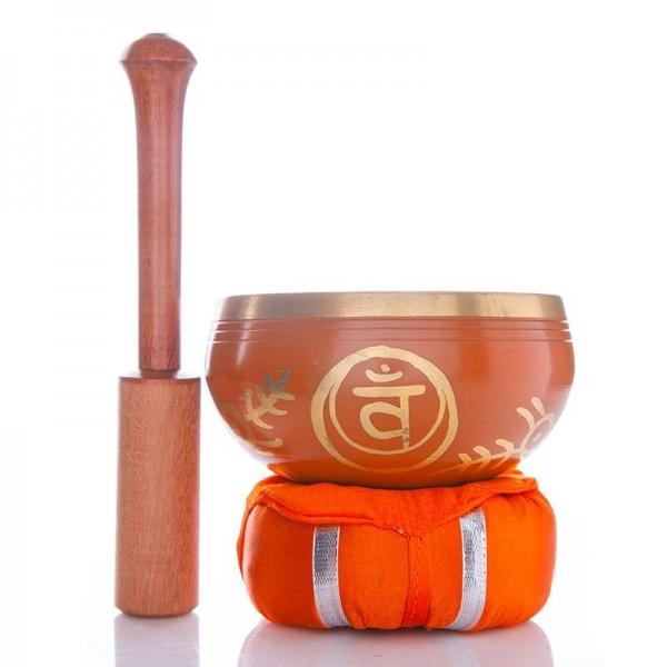Chakra Klangschale Orange