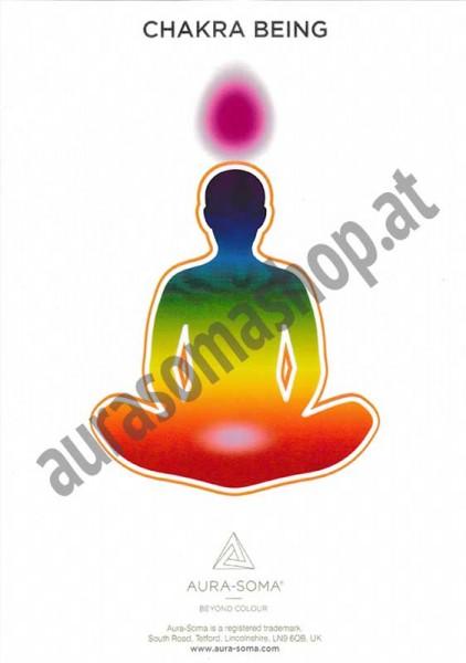 "Aura-Soma Poster ""Chakra Being"""