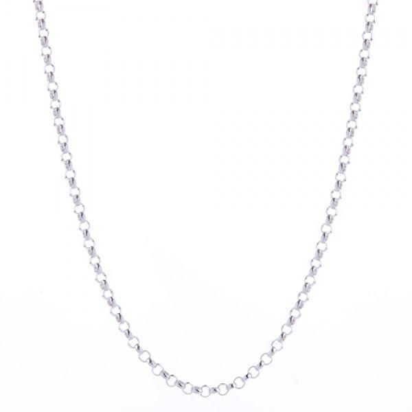Silberkette 90 cm lang