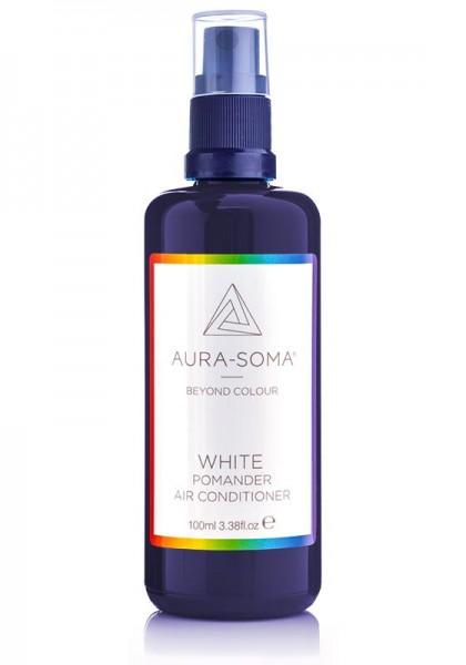 Aura-Soma Raumspray Pomander Weiß