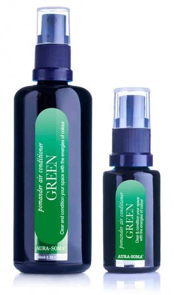Aura-Soma® Raumspray Pomander Smaragdgrün