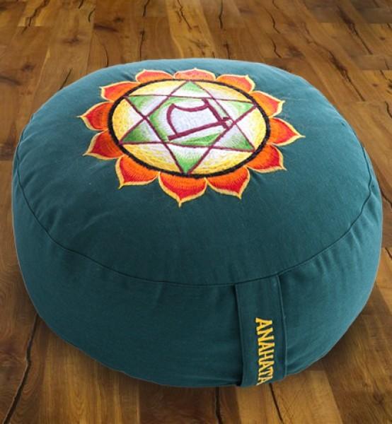 Meditationskissen Chakra 4, Anahata - grün