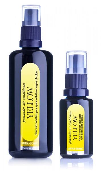 Aura-Soma® Raumspray Pomander Gelb