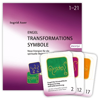 """Buchset """"Engel-Transformationssymbole"""" - Ingrid Auer"""