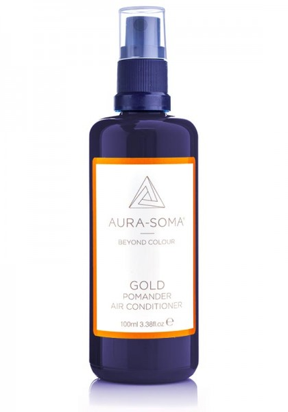Aura-Soma Raumspray Pomander Gold