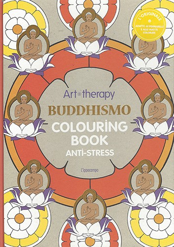 Kunsttherapie Malbuch Buddhismus