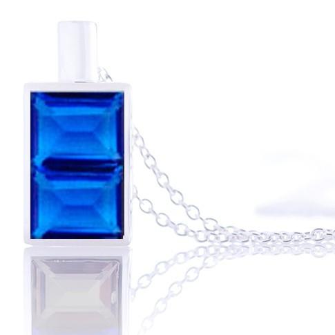 Aura-Soma Jewellery Kristallanhänger B2 - Friedensflasche