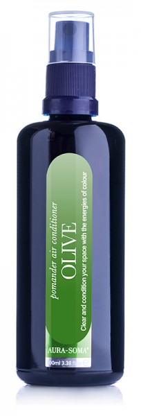 Aura-Soma® Raumspray Pomander Olivegrün