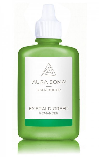 Aura-Soma® Pomander Emerald Green