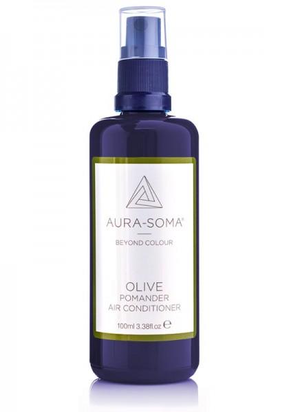 Aura-Soma Raumspray Pomander Olivegrün