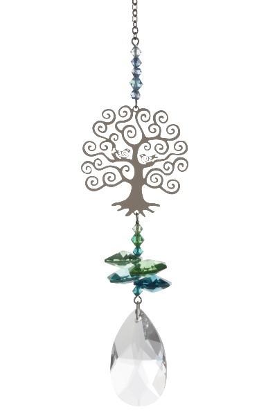 """Sonnenfänger-Kristall """"Lebensbaum"""""""