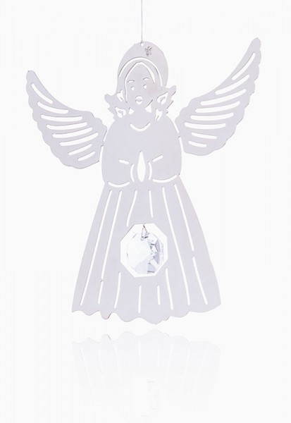 """Fensterhänger """"Engel"""" mit Feng-Shui Kristall"""